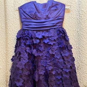 XOXO girls party dress w beautiful flower skirt
